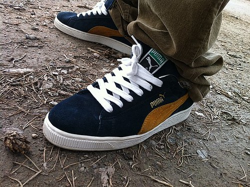 Puma Suede Classic On Feet