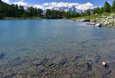Il Lago d'Arpy (supersky77) Tags: lake alps nature alpes lago lac natura alpen alpi montblanc aosta montebianco valdaosta thuile lathuile arpy jorasses grandesjorasses lagodarpy lacdarpy colledisancarlo