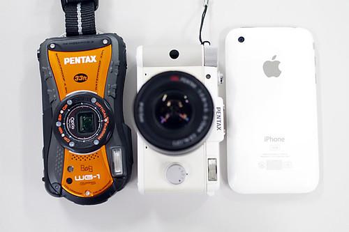 PENTAX Q size comparison