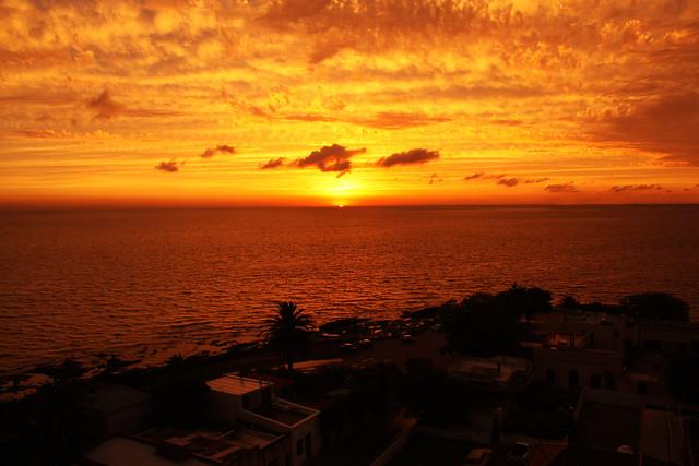 Sundown in Uruguay