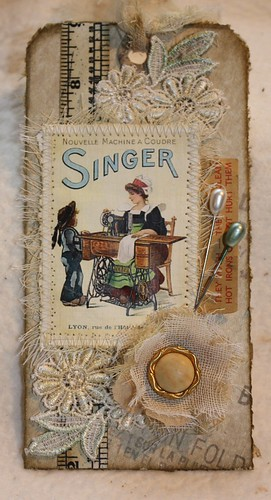 Vintage Sewing Tag