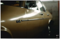 Chevy Nova. (yassefselman.com) Tags: chile auto chevrolet film nova car pentax concepcion 50mm14 chevy analoga papel escaneada yassefselman ysfoto yassefselmancom
