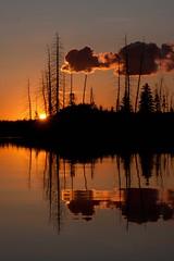 Astotin Lake Sunset (Edmonton Ken) Tags: sunset lake astotin