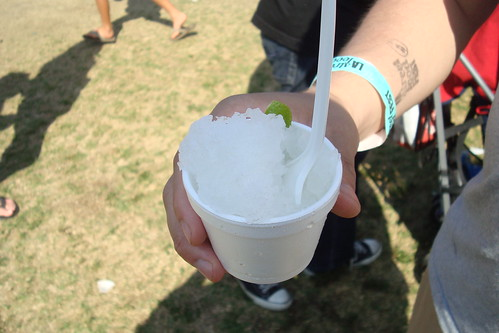 Ice Ice Shavie: Mojito (mint, lime)
