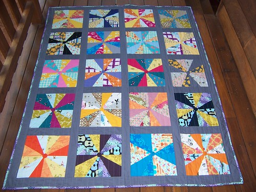 Bec's 3 year quilt by craftykat