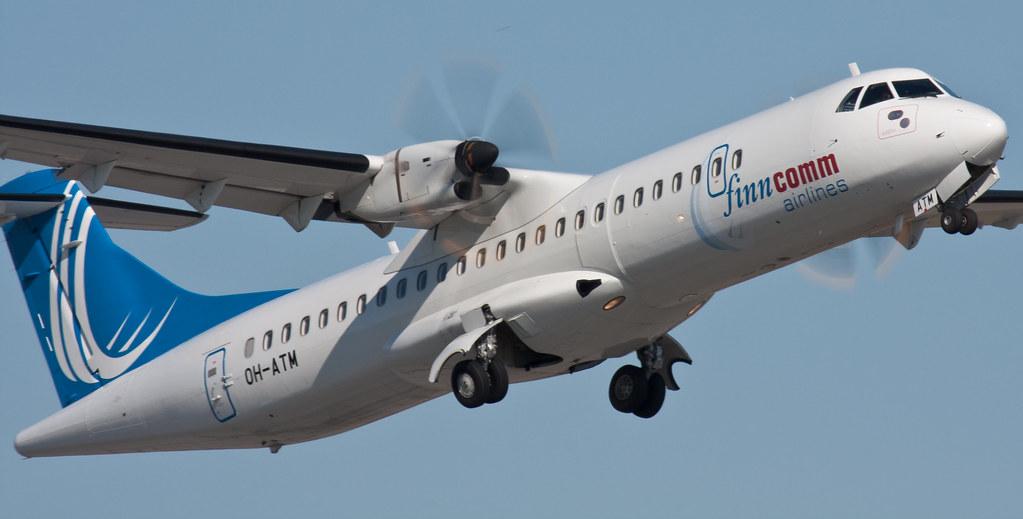 Finncomm Airlines - OH-ATM - ATR-72-500 (ATR-72-212A)