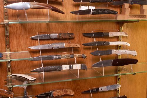 Collection de couteaux de Lucien Péronne