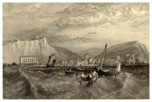 011-Hasting-Inglaterra-Stanfield's coast scenery…1836- Clarkson Stanfield