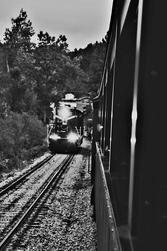 1880 Train B&W