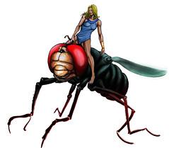 mosca gigante (artsbypaulo) Tags: fly herculoids gigante zara