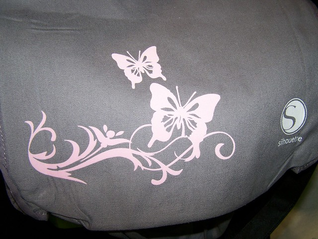 My tote bag, made in minutes with the Silhouette