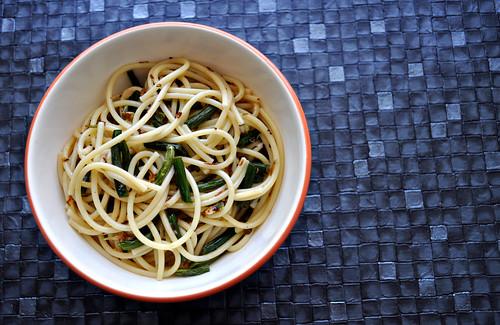 Garlic Scape Lemon Pasta 2
