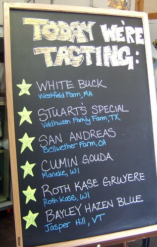 Houston Dairy Maids - tasting board
