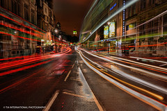 Tipsy in Trafalgar (TIA International Photography) Tags: road street city uk light england urban blur color colour bus london tower clock westminster june night drunk speed buildings tia dark studio square landscape spring big blurry europe cityscape view cross traffic time ben zoom britain spin united great trails trafalgar fast kingdom parliament warp double future charing streams dizzy middle avenue velocity quick tumble median whitehall tipsy furious tosin decker stumble arasi tiascapes tiainternationalphotography