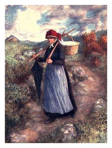 020-Mujer campesina de las Ardenas-Belgium 1908- Amédée Forestier