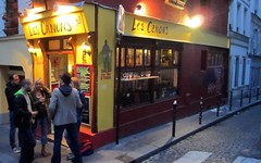 Bar scene, Montmartre