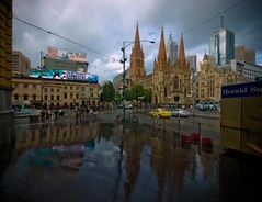 "Melbourne Swanston St • <a style=""font-size:0.8em;"" href=""http://www.flickr.com/photos/44919156@N00/5965933431/"" target=""_blank"">View on Flickr</a>"