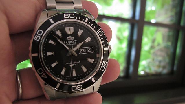 watch orient xl mako 時計 mako2 機械式 オリエント makoii makoxl