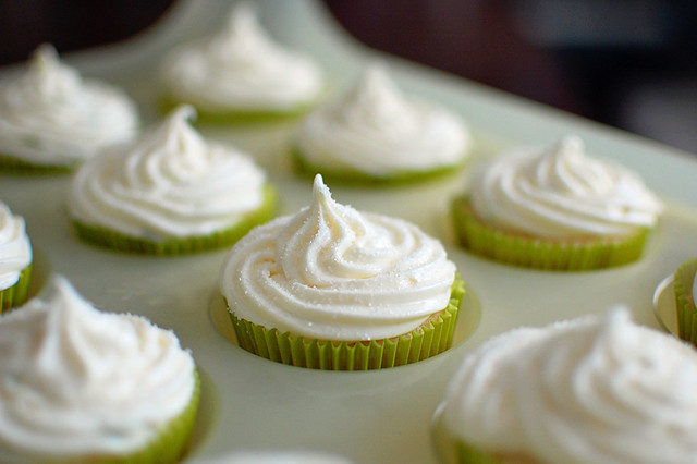 Margarita Cupcakes with Lime Frosting
