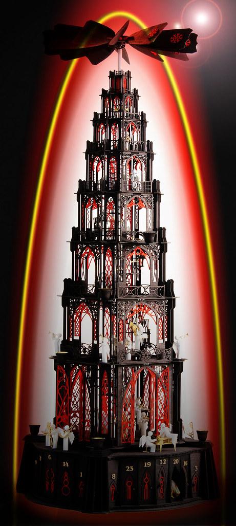 gotische Dompyramide