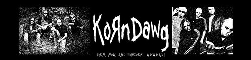 my korn banner