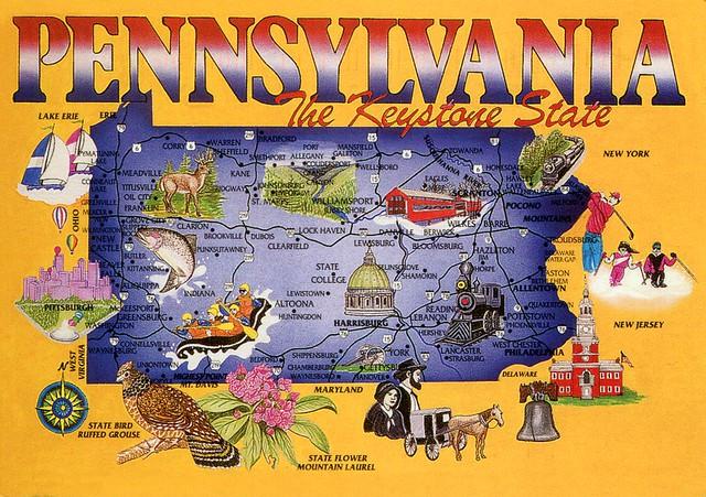 Pennsylvania - The Keystone State!