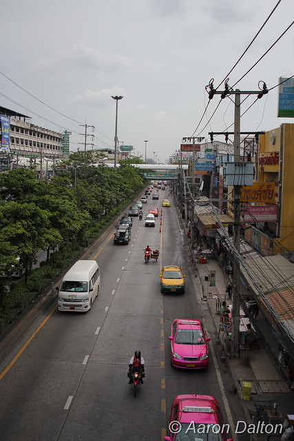 View Down a Street