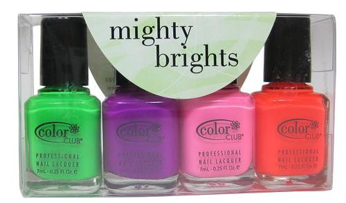 Color Club Might Brights (mini set of 4)