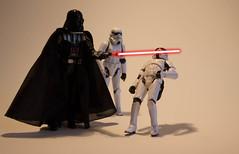Limbo Star Wars (Majin_Snake) Tags: dark starwars stormtrooper lightsaber vader sith limbo vador