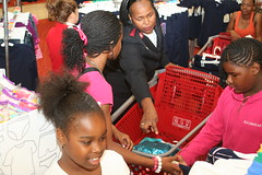 TARGET PHOTOS 112 (The Salvation Army Chicago Metropolitan Division) Tags: salvationarmy target backtoschool shoppingspree chicagoschoolstudents