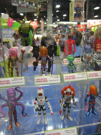 Outer Space Men at SDCC 2011