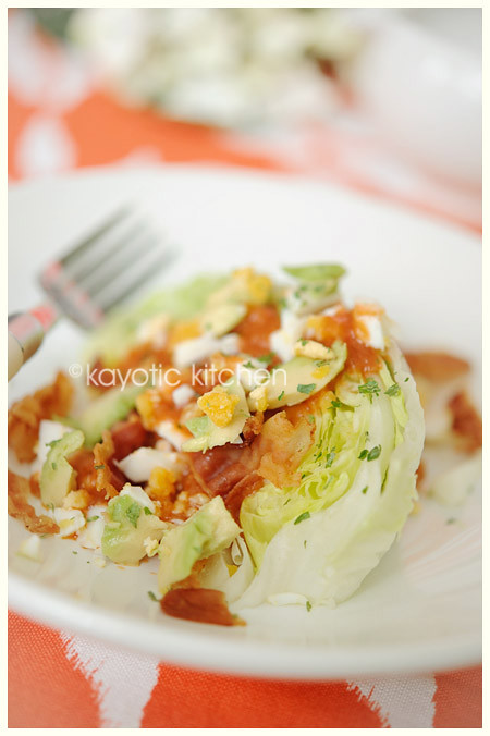 Quick Wedge Salad