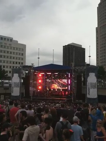 Vitamin Water Stage during Movement Detroit 2011