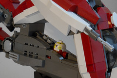R-figther.drone port (blas-T) Tags: star lego r wars clone sip figther starfigther