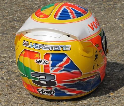 Paul Di Resta helmet