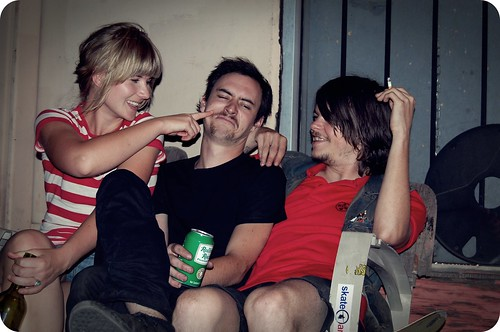 b, sam and tyler.