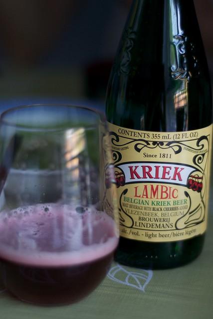 Lindeman's Kriek Lambic