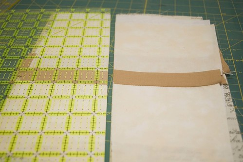 Tutorial - Strip Pieced Wony Cross