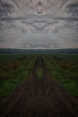 The Road Not Taken (Scott LaBlanc) Tags: road sky path taken hdr
