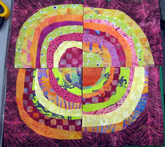 student work ~ recycled circles
