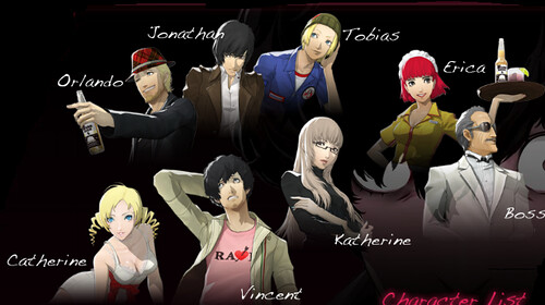 Catherine Characters Guide