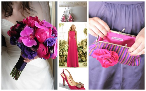Wedding Style: Pink + Purple by Nina Renee Designs