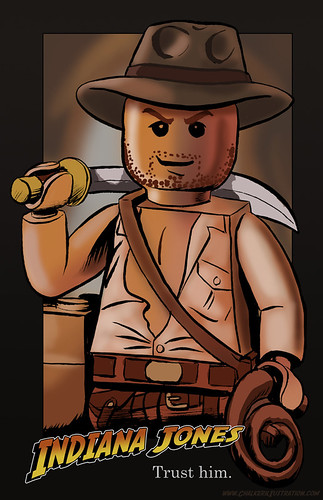 Lego Indy by Manly Art