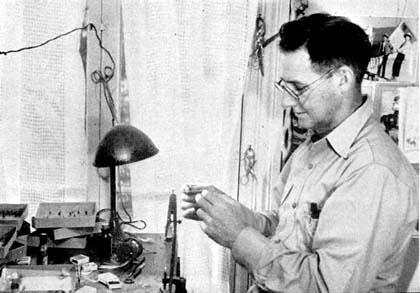 Ray Bergman circa 1940