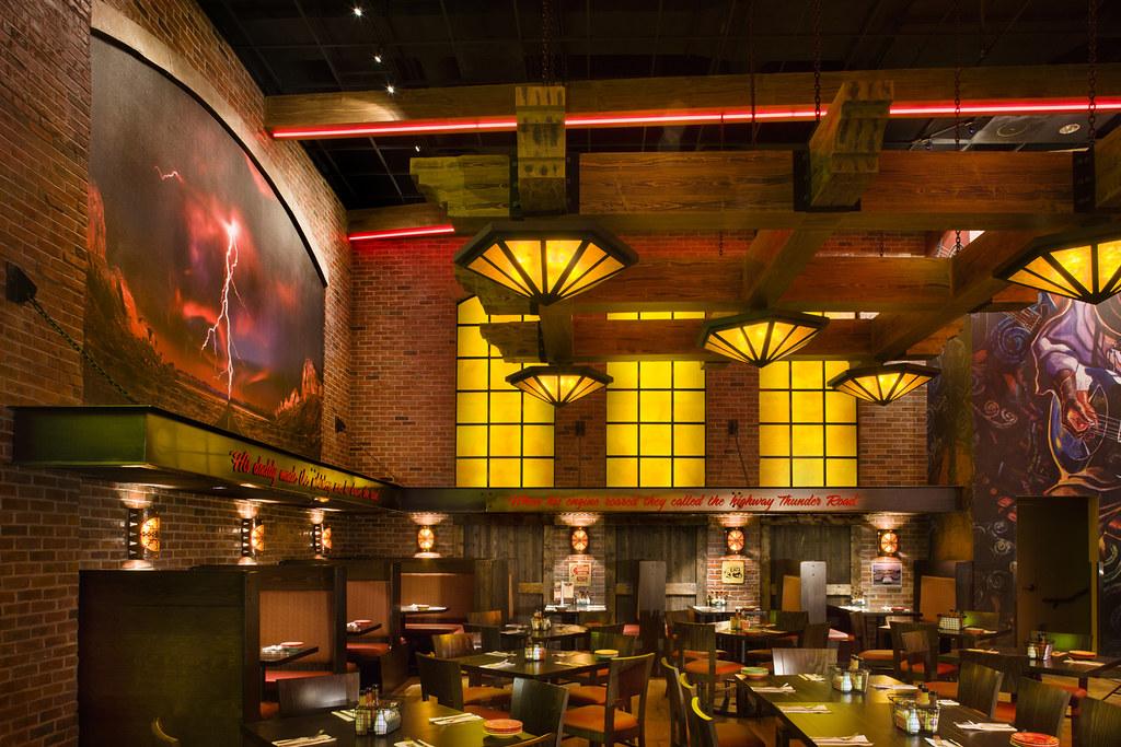 Casino Restaurant Design | Interior Restaurant Design | Restaurant Decor Design | Thunder Road Steakhouse & Cantina | Route 66 Casino