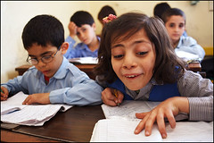 Lesson - Amman, Jordan (Maciej Dakowicz) Tags: city school children education country capital amman middleeast class arabic jordan arab arabia learning schoolchildren lesson schoolgirl pupil kingdomofjordan