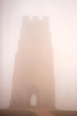 The tor on a misty day, Nov 1990