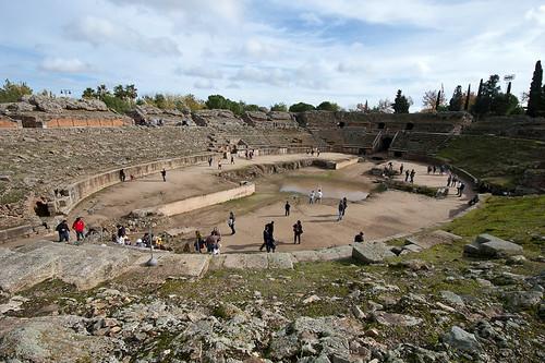 El Anfiteatro de Mérida