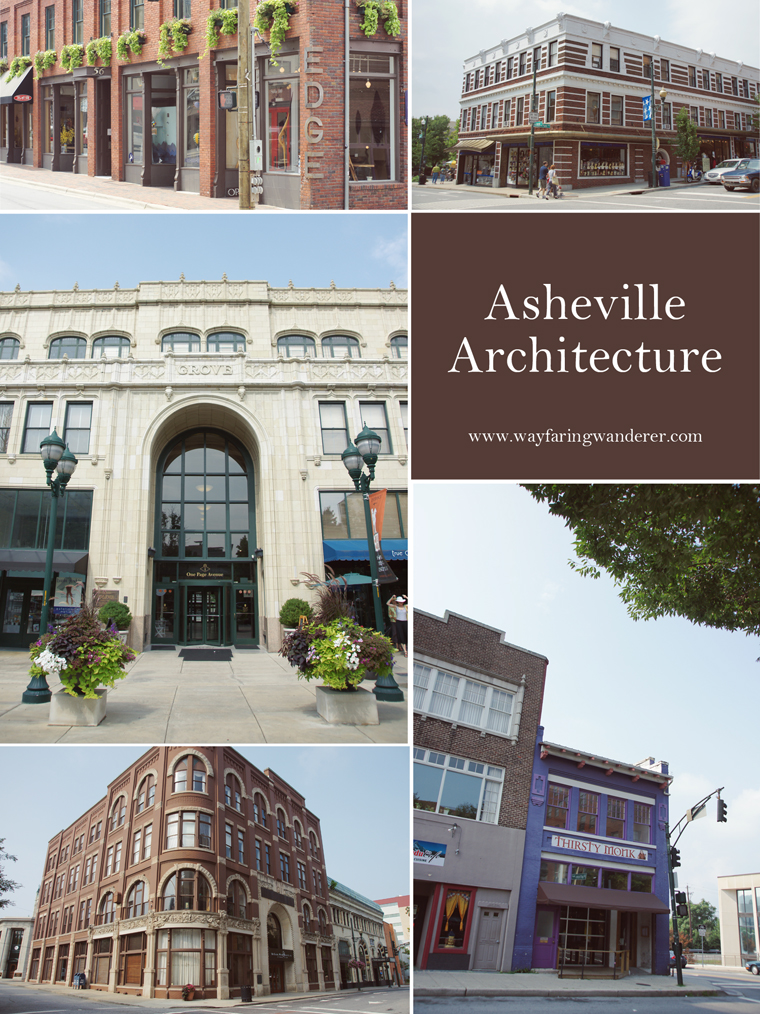 Asheville Architecture Collage