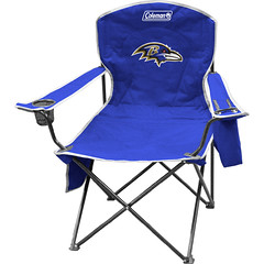 Baltimore Ravens Tailgate/Camping Cooler Chair